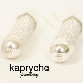 Kaprycho. Beady Pearls - kolczyki